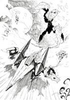 Starlink Battle for Atlas featuring Starfox inks by Joelchan