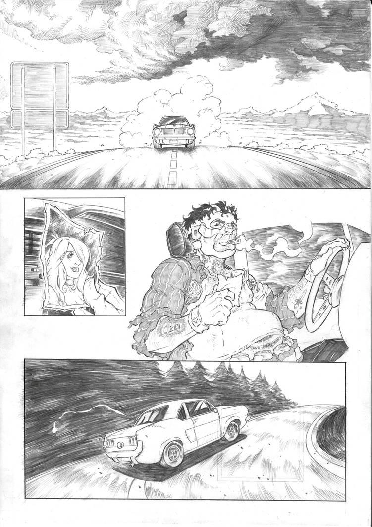 Travis Strikes Again No more heroes sample page 1 by Joelchan