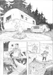 Travis Strikes Again No more heroes sample page 2 by Joelchan