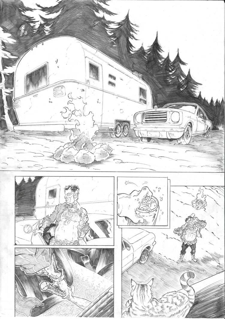 Travis Strikes Again No more heroes sample page 2 by Joelchan