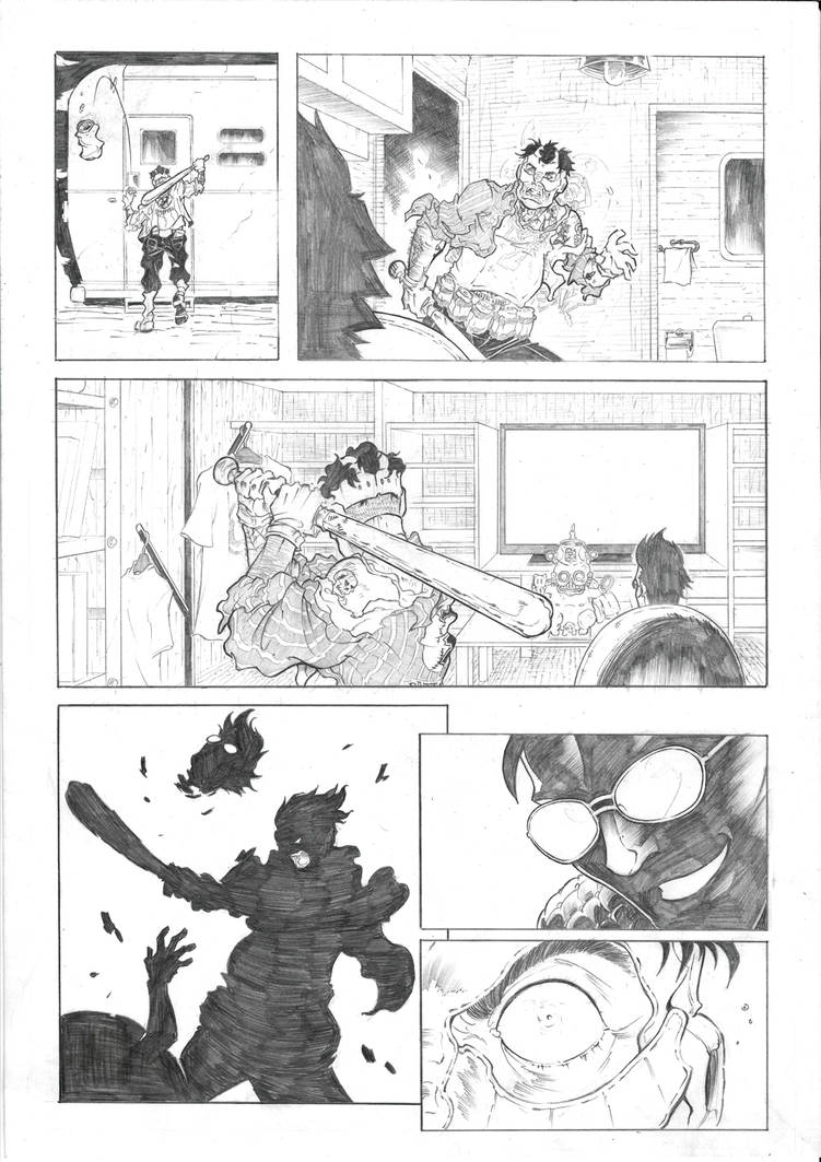 Travis Strikes Again No more heroes sample page 3 by Joelchan