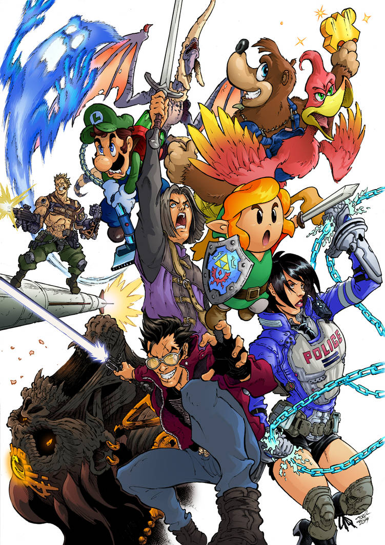 Nintendo Direct E3 2019 Colored ver  by Joelchan on DeviantArt