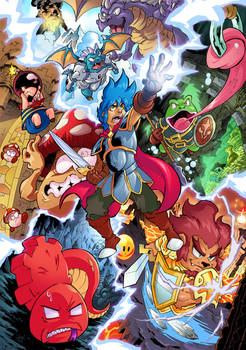 Monsterboy and the Cursed Kingdom