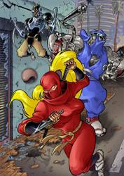 The Ninja Saviors: Return of the Warriors