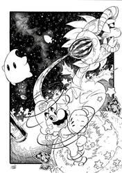 Super Mario Galaxy Inks