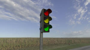 Trafficlight, rendering practise