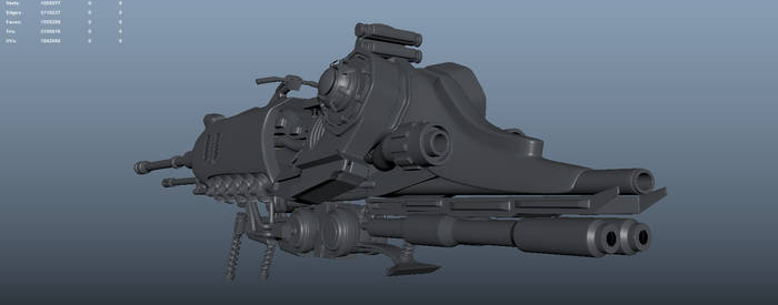 Highpoly scetch, vehicle