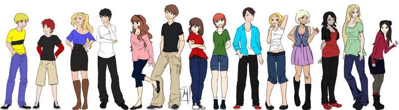 AG Cast by RayneShikama