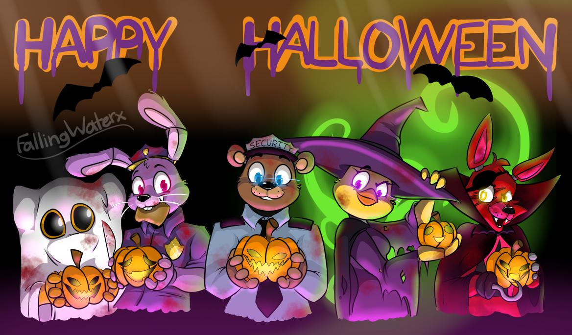 Happy Halloween!! by FallingWaterx on DeviantArt