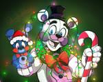 Christmas Freddy by FallingWaterx