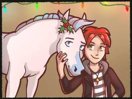 Merry Christmas Dragonpopfruit! by FallingWaterx
