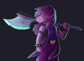 Susie - Deltarune by FallingWaterx