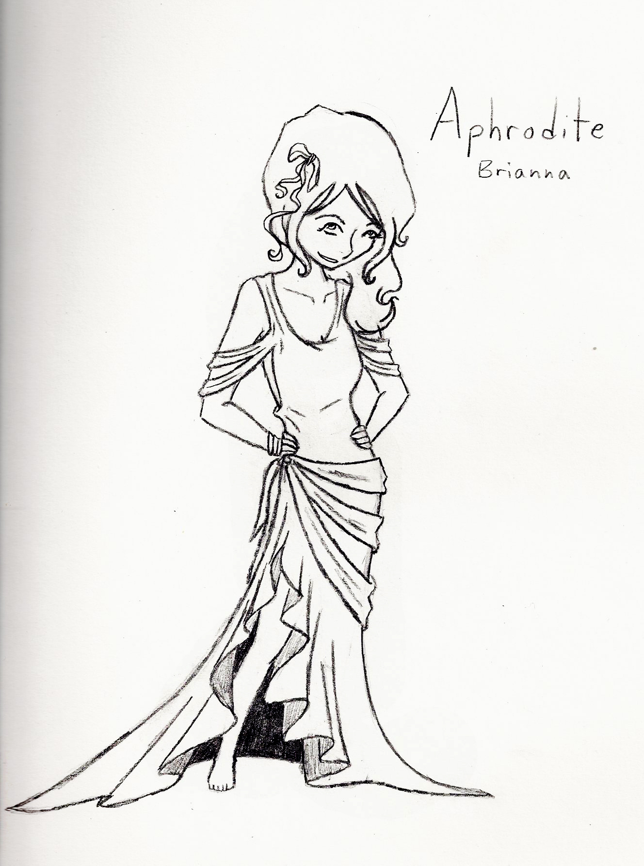 Uncategorized Drawings Of Aphrodite aphrodite sketch by smartallecsquirrel on deviantart smartallecsquirrel