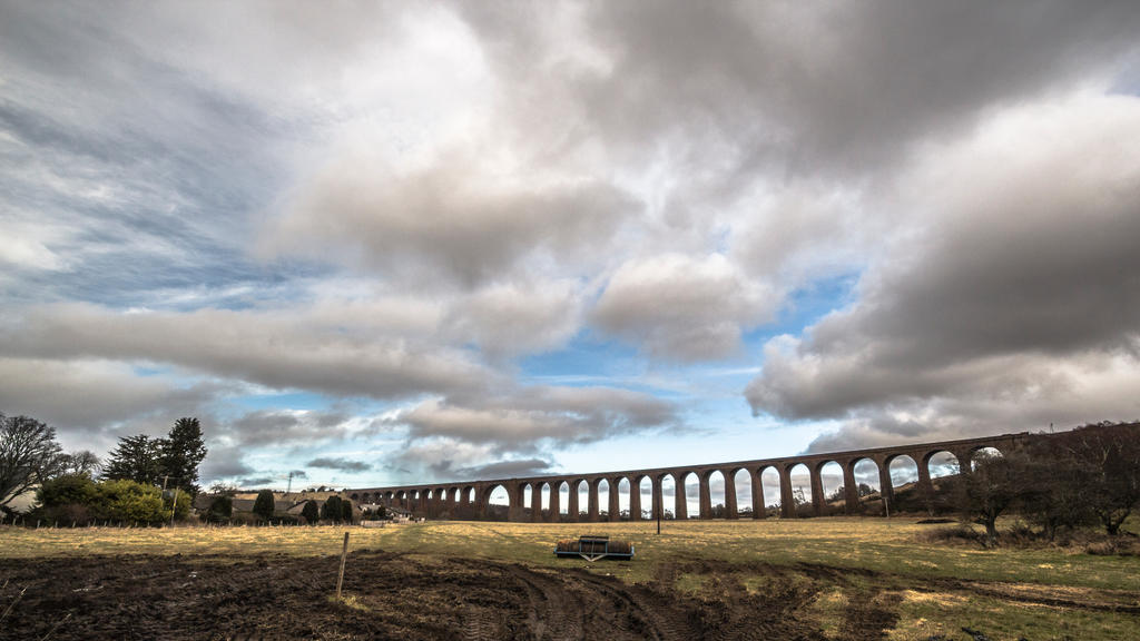 Culloden Viaduct by whitephotographySCOT
