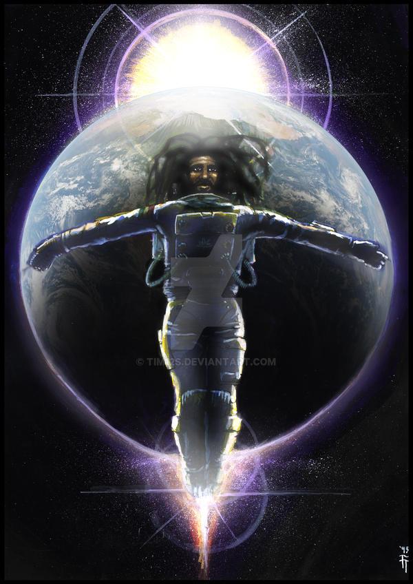 Afronaut by tim12s