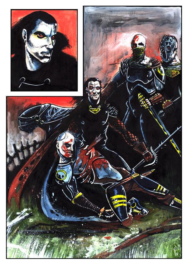 Vampire Wars by tim12s