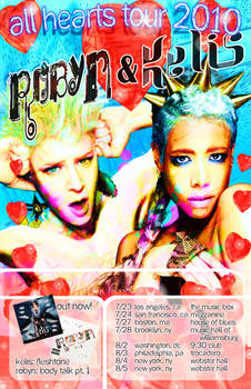 Robyn and Kelis poster design.