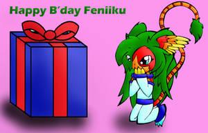 HAPPY B'DAY FENIIKU