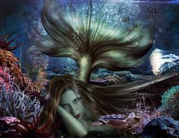 Composicin Sirenita II by jaher06