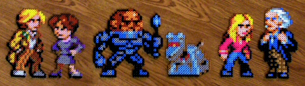 Dr. Who Bead Sprite Collection by cxareigna