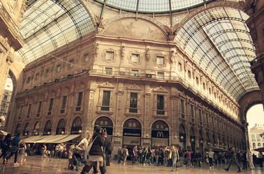 Mediolan Galeria Vittorio Emanuele II