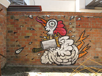 chicken by flannmd