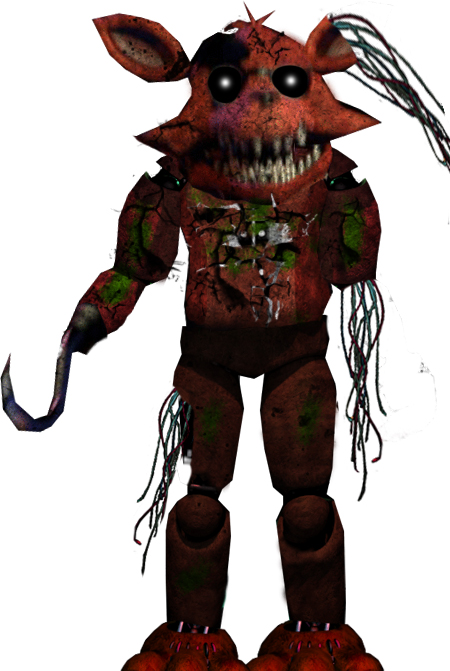 Five Nights At Freddy S Shattered Foxy Fanmade By