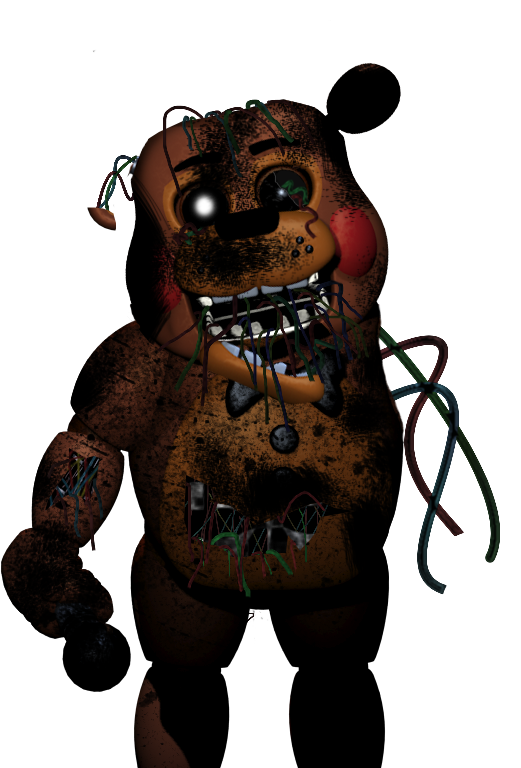Five nights at freddy s burned toy freddy by goldennexus on