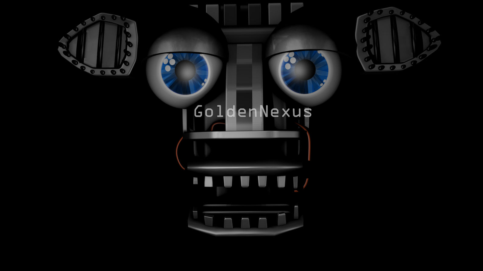 Fnaf 2 Endoskeleton Model Wip By Goldennexus On Deviantart