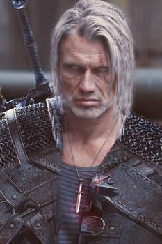 Witcher Geralt/Dolph Lundgren fan art