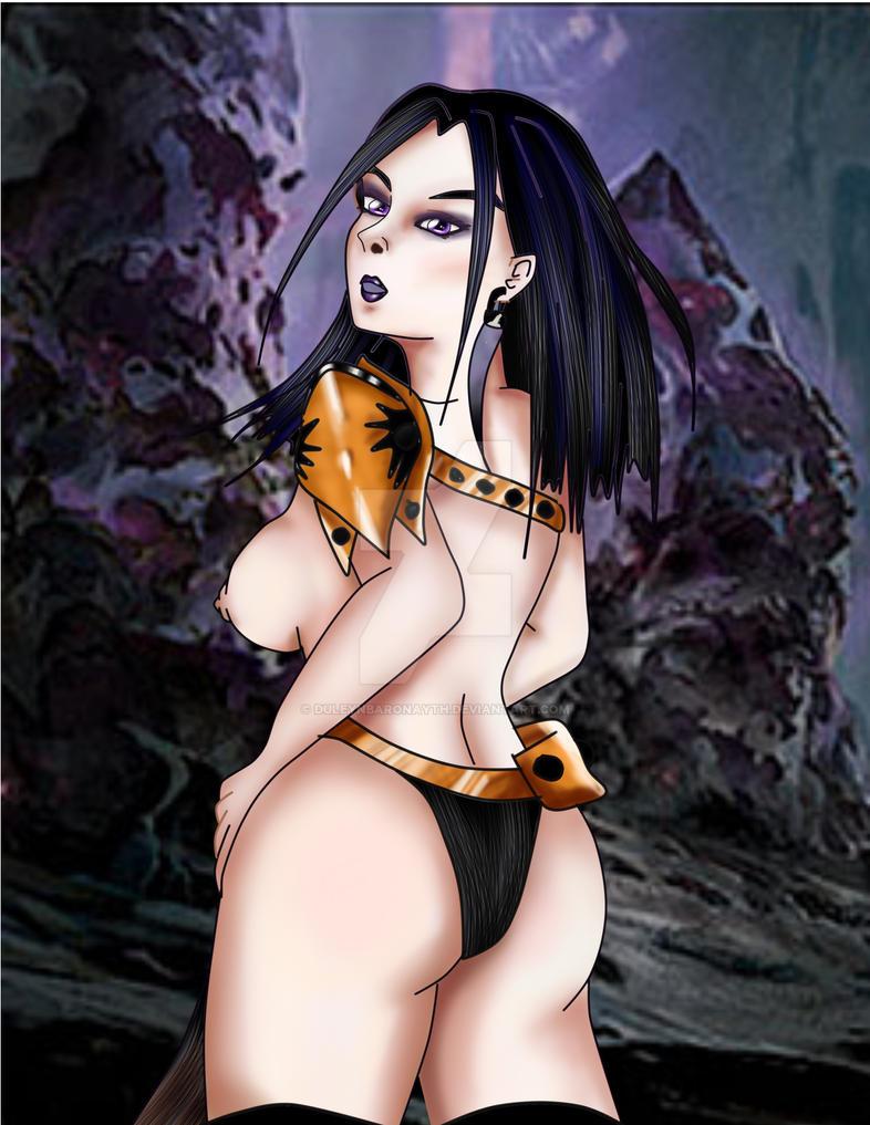 dakmor sorceress by DuleynBaronayth