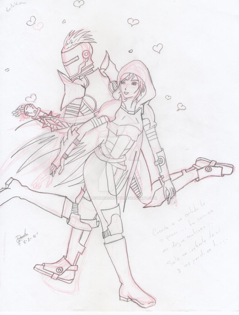 destiny game valentine day by DuleynBaronayth