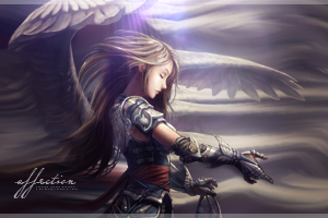 Angel Smudge by chuchu6913