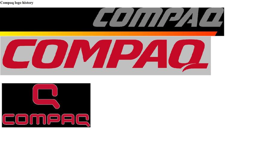 new compaq logo. compaq logo history by