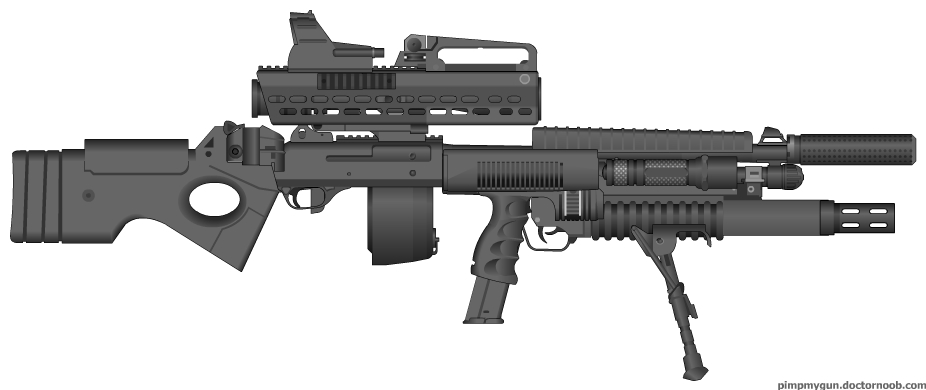 Gun Ass 120