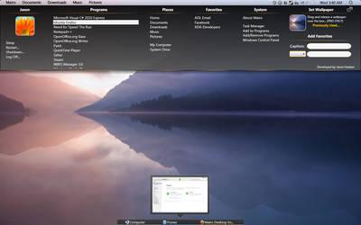 Mairo Desktop Environment - Powered SharpEnviro U2 by stickman89