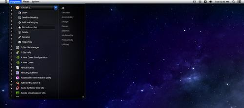 Pirum UI - (Desktop Interface) Progress #5 by stickman89