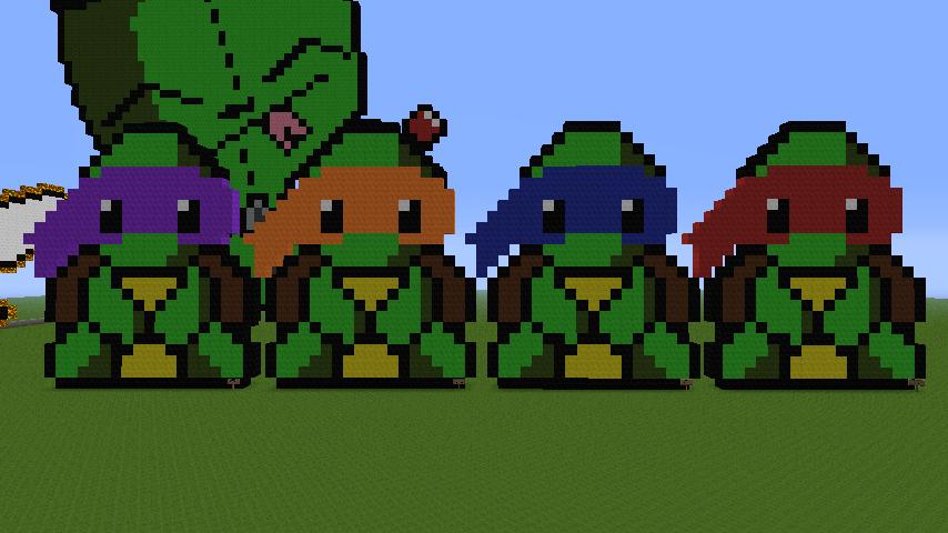 Ninja Turtles Minecraft Videos Wwwpicsbudcom
