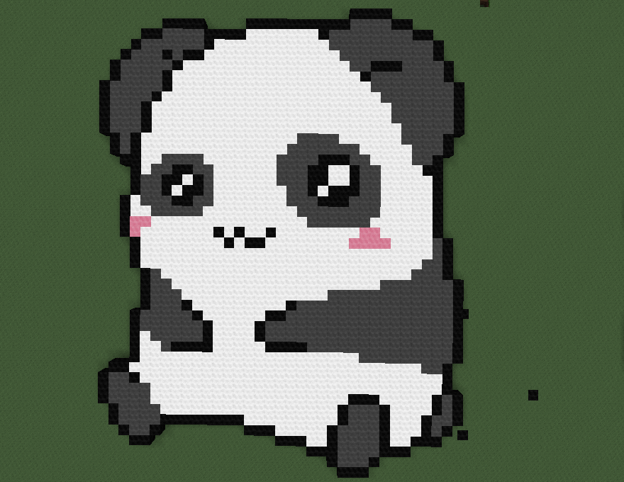 My Panda In Minecraft By Shmoness3362 On Deviantart