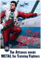 You Give Him X-Wings! Rebel Alliance Propaganda by jlbanchick
