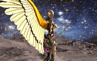 Lithium Angel by Jadeonar