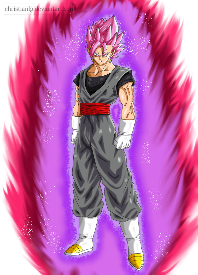 black vegetto ssj rose by christianlg on deviantart