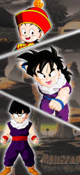 Kid Gohan Wallpaper for Android by Christianlg