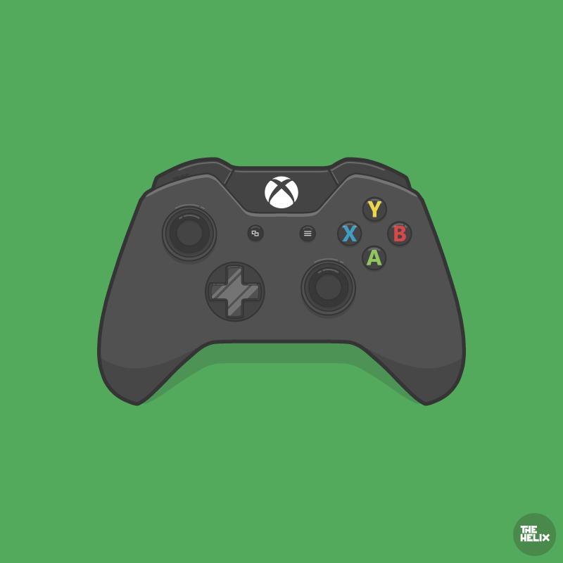 Xbox One Controller Vector Xbox One Controller