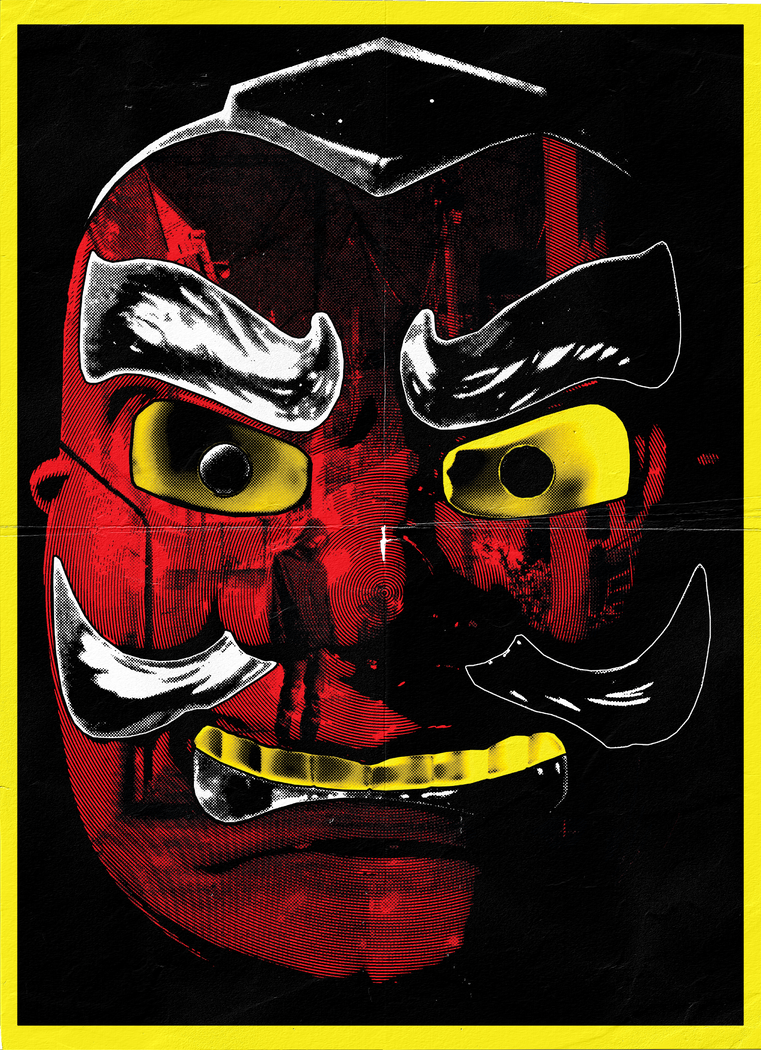 Tengu Psycho Poster by Kk-Man