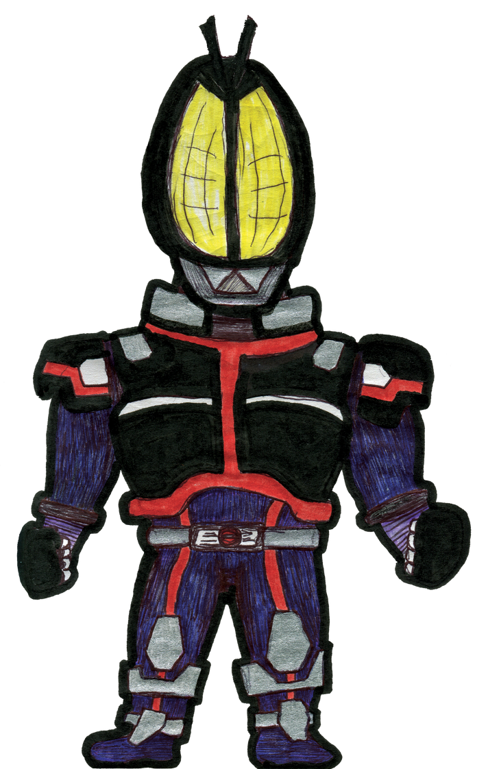 Kamen Rider 555 by Kk-Man