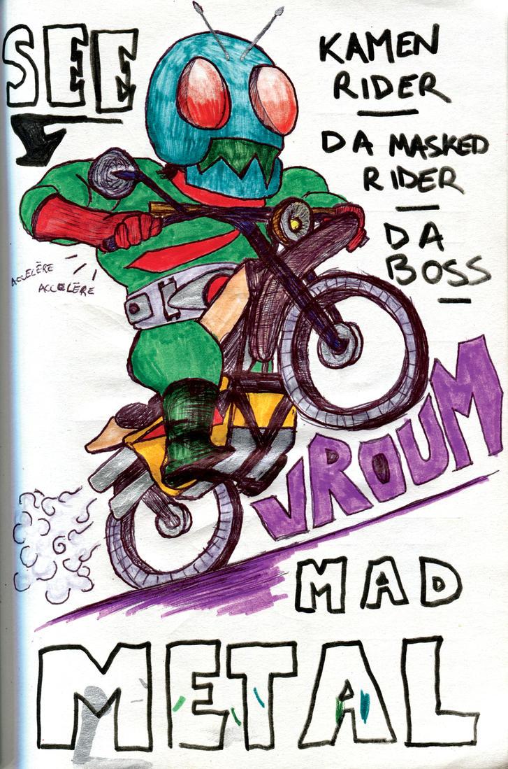 Kamen Rider 1 Mad Metal by Kk-Man