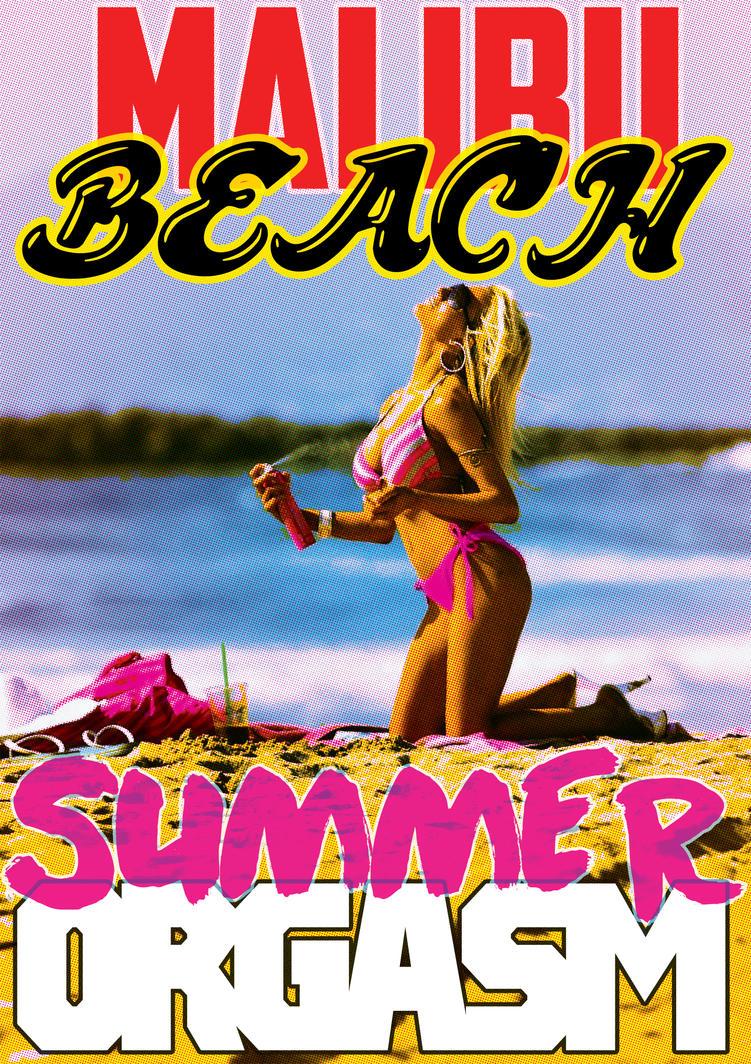 Malibu Beach Summer Orgasm - Carte Postale by Kk-Man