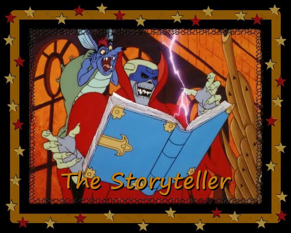The Storyteller by LeelaComstock