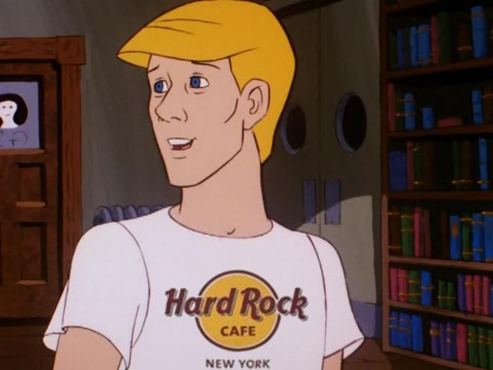 Souvenier from Hard Rock Cafe by LeelaComstock